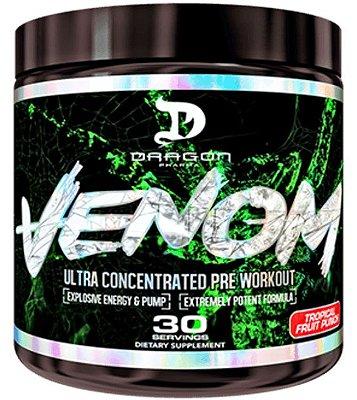 Venom Pré Treino (40 Doses) Dragon Pharma