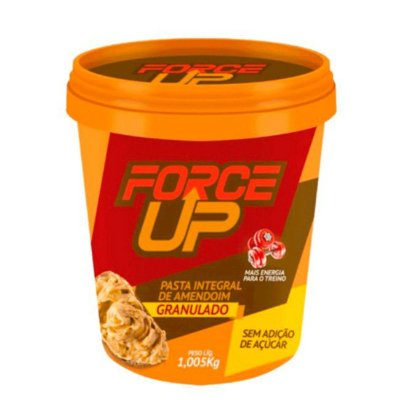 Pasta de Amendoim Granulado (1Kg) Force Up
