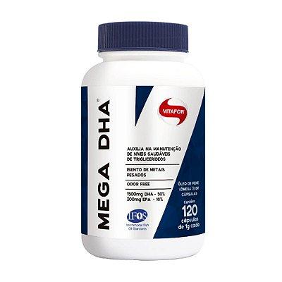 Ômega Mega DHA (120 caps) Vitafor