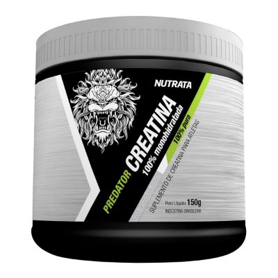 Creatina Predator (150g) 100% Monohidratada Nutrata
