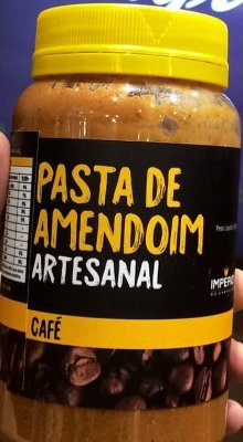 Pasta de Amendoim Café (500gr) Imperio