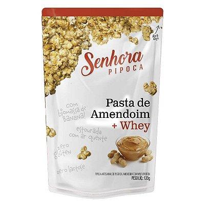 Senhora Pipoca (90g) Pasta de Amendoim + Whey