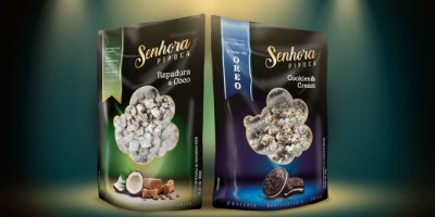 Kit Senhora Pipoca- Cookies & Cream + Rapadura & Coco