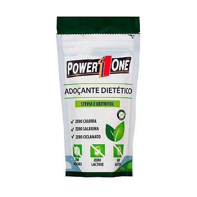 Adoçante Stevia+ Eritritol em pó (180g) Power One