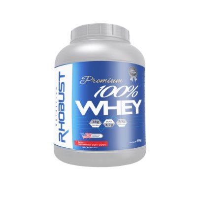 100% Whey (900g) Rhobust