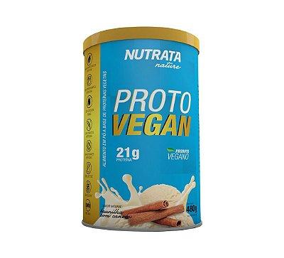 Proto Vegan- Nutrata Nature (480g) - Sabor Baunilha com canela