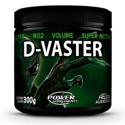 Pré Treino- D-Vaster (300g) - Power Supplements