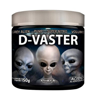 Pré Treino D-Vaster (150g)- Power Supplements
