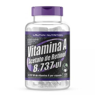 Vitamina A (60 caps) - Lauton Nutrition
