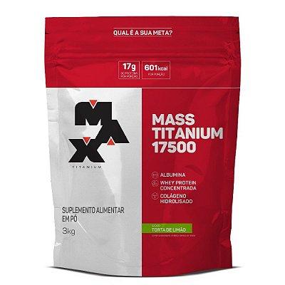 Hipercalórico Mass Titanium 17500 (3Kg) - Max Titanium