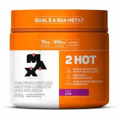 Termogênico Ultimate 2 Hot (200g) Max Titanium