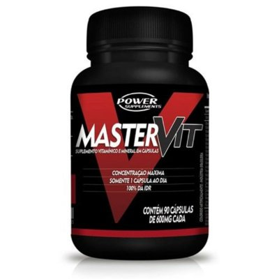 Master Vit  (90 Cáps) - Power Supplements