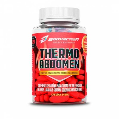 Termogenico - Thermo Abdomen (60 caps) BodyAction