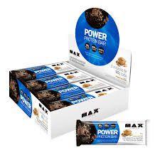 Barra de Proteina - Power Protein Bar - Max Titanium   (1 caixa - 8 unidades)