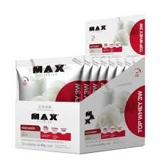 Top Whey 3W + Sabor (1 unidade- 40g) Max Titanium