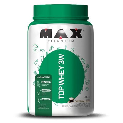 Top Whey 3W + Natural (900g) Max Titanium