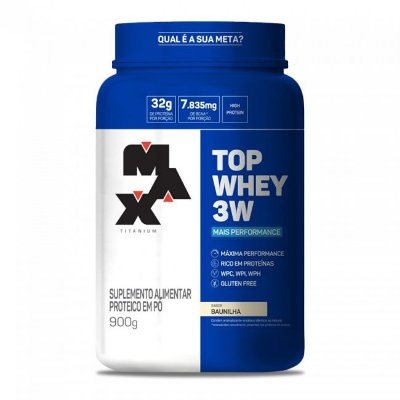 Top Whey 3W + Performance (900g) Max Titanium