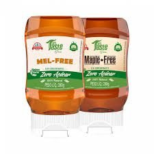 Kit 2 Caldas VEGANAS ZERO (Mel Free + Maple Free) - Mrs Taste Green