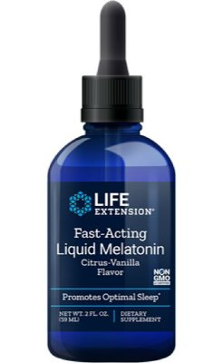 Melatonina liquida IMPORTADA 3mg (59ml) - Life Extension