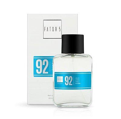 Perfume 92 - Melão, Amora e Vanila 60 ml Referência olfativa de J'Adore