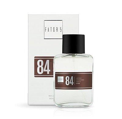 Perfume 84 - Laranja, Cardamomo e Tabaco 60 ml Referência olfativa de Dolce & Gabbana