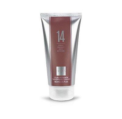 Loção Hidratante 14 180ml  Referência olfativa de Dolce & Gabbana