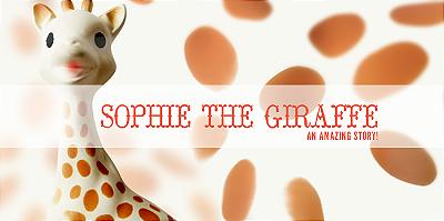 Sophie, a girafa - mordedor Vulli Sophie