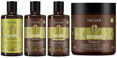 Kit Completo Inoar Botanic Fortalecimento e Crescimento
