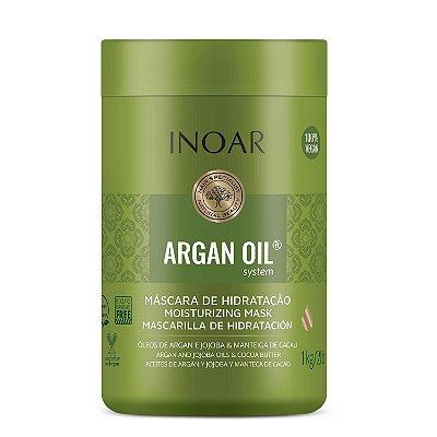 Inoar Argan Oil System Máscara de Tratamento Intensivo 1kg