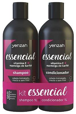 Yenzah Essencial Kit Shampoo e Condicionador 2x1L