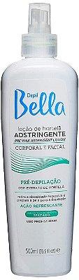 Loção Pré Depilatória Adstringente de Hortelã 500 ml - Depil Bella