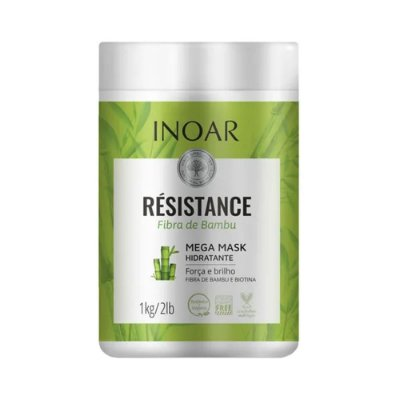 Inoar Résistance Fibra de Bambu Máscara de Tratamento 1kg
