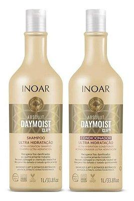 Kit Shampoo e Condicionador Inoar Absolut Daymoist CLR Litro