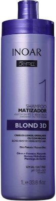 Shampoo Matizador Inoar Oxyfree Blond 3D 1000ml