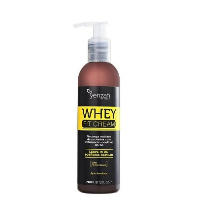 Yenzah Whey Fit Cream Leave-in de Potência Capilar - Leave-in 240ml