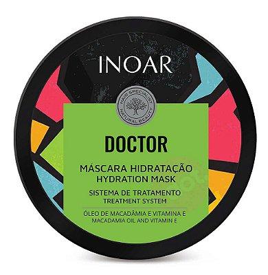 Inoar Doctor Máscara Hidratação - Máscara de Tratamento 250g