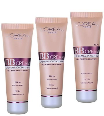 L'Oréal Paris Creme 5 x 1 FPS 20 - BB Cream 30ml
