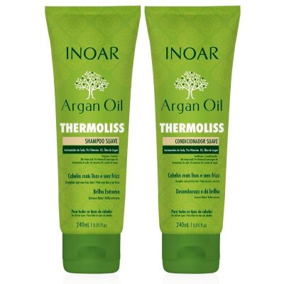 Inoar Argan Oil Thermoliss Kit (2 Produtos)