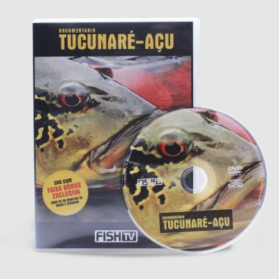 Fish TV - DVD Documentario Tucunaré-Açu