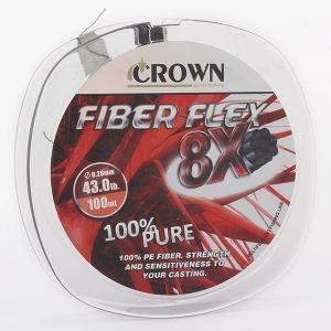 Linha Crown Fiber Flex 8X - 100M