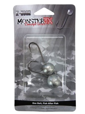 Jig Head Monter 3X - 3/0