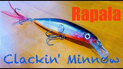 Isca Rapala Clackin Minnow CNM-9