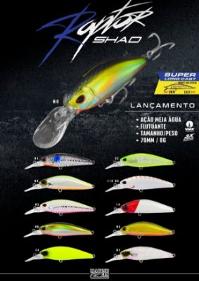 Isca Marine Sports Raptor Shad 70