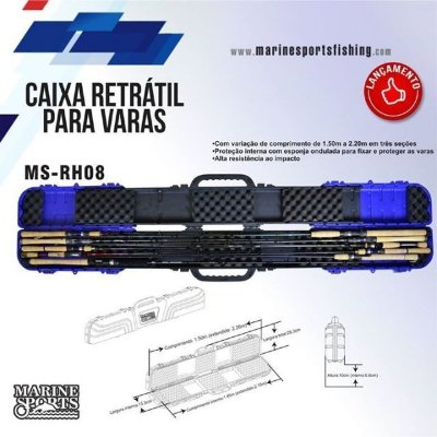 Caixa Retrátil Marine Sports