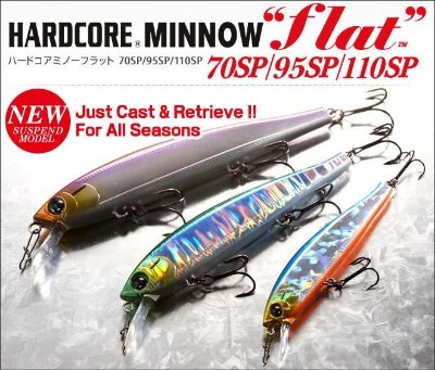 Isca Duel Hardcore Minnow Flat SP F1087 95MM