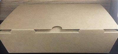 Caixa Kraft Box para Lanches 1.100ml unid