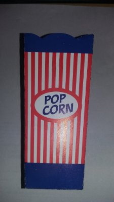 Caixa Pipoca Pequena (azul) c/10 unids (consultar disponibilidade antes da compra)