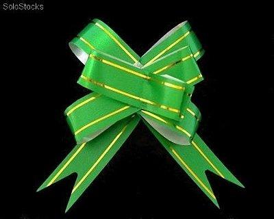 Laço Pronto PP Verde (Mini) c/10 unids (consultar disponibilidade antes da compra)
