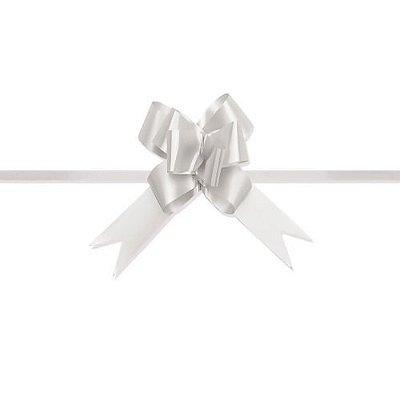 Laço Pronto Pequeno Branco c/10 unids (consultar disponibilidade antes da compra)