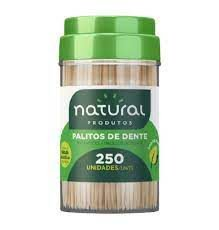 Palito Dental Bambu Natural 250unids